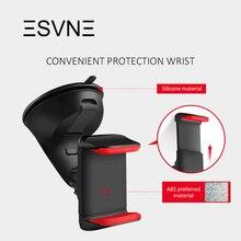 ESVNE حامل جوال للسيارة للاستخدام العالمي للهاتف المحمول حامل هاتف الزجاج الأمامي جبل حامل هاتف الخليوي لوحة سيارة حامل هاتف ذكي