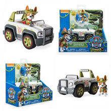 Original box Genuine Paw Patrol tracker Truck Dog Brinquedos Dolls puppy patrol Toy apollo action figure kids Gift Juguetes toy стоимость
