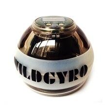 Мышцы расслабляющий ручной шар гироскоп энергетический шар светодиодный+ измеритель скорости счетчик гандбол тренажер усилитель фитнес гироскоп мяч