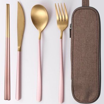Pink gold 4 PC