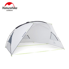 Naturehike Camping Awning tent Sun Protection UV Protection Canopy Outdoor Rainproof Sunshade Beach Tarp UPF40+ naturehike family camping awning tent sun protection uv protection outdoor rainproof sunshade beach tarp canopy party tent