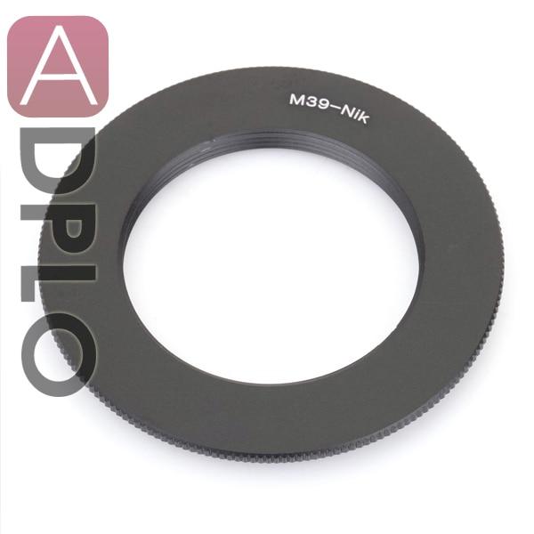 купить Pixco lens adapter work for Macro M39 to Nikon D5300 D3300 Df D610 D7100 D52000 D3X D90 D700 D810 по цене 465.78 рублей
