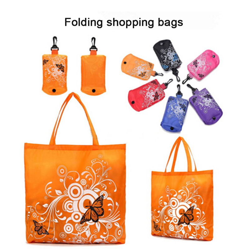 2019 Hot Cute Animal Supermarket Shopping Bag Portable Folding Large Storage Reusable Grocery Totes Eco-friendly Shopping Bags