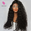 180 Density Culy Wig Full Lace Wig Virgin Brazilian Hair Curly Lace Front Wig Glueless Full Lace Human hair Wigs For Black Women