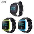 Горячая E07S Водонепроницаемый Bluetooth 4.0 Спорт Smart Watch Шагомер Фитнес-Трекер Smartwatch Для Android IOS Телефонов PK ID107 mi band