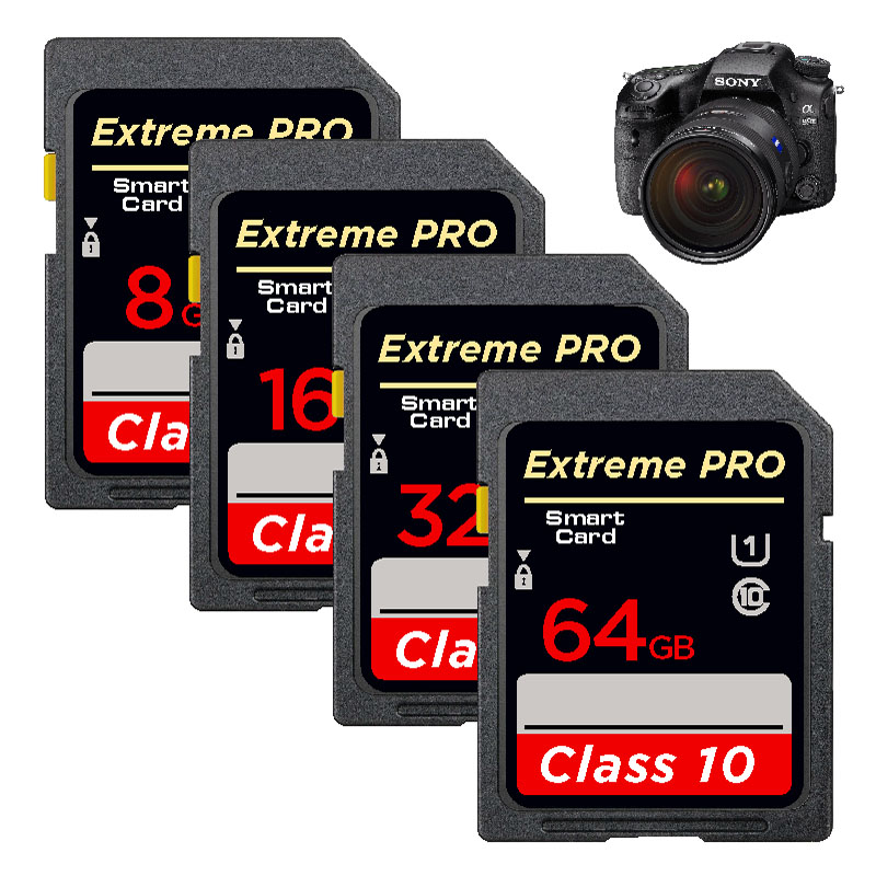 Image 5 - Flash 32GB 16GB SDHC   64GB 128GB 256GB SDXC WiFi SD Card UHS I Class 10  Flash Memory Card For Digital Camera-in Memory Cards from Computer & Office