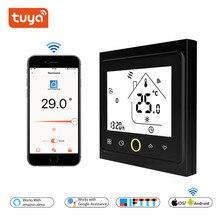 Термостат, WiFi, контролируемый термостат, газовый котел/вода/электрический теплый пол, умный термостат, wifi, белый и черный цвет