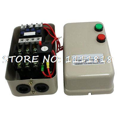 цена на 380V Coil 3.2-5A 3 HP 2.2KW 3 Phase AC Contactor Motor Magnetic Starter