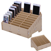 Multifunctional Mobile Phone Repair Tool Box Wooden Storage Box For Screw Little Parts Smartphone NAND IC