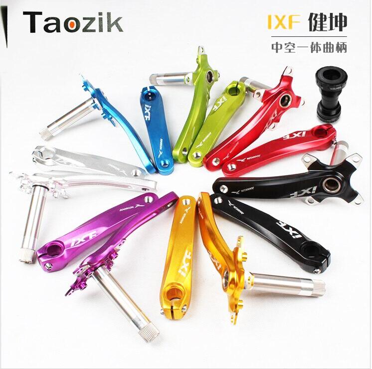 JIANKUN IXF BCD 104 170mm CNC light weight crank arm MTB bicycle crankset with bb холодильник bcd 102d