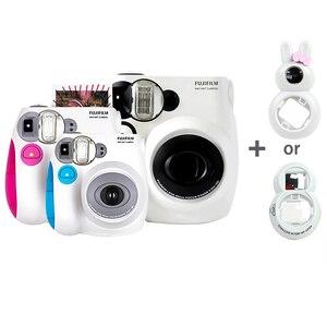 Image 1 - Cámara fotográfica instantánea original Fujifilm Instax Mini 7s, se acepta Mini película de Fuji Instax, lente de Selfie como regalo gratis