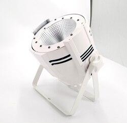 200W COB Led lampa par ciepły biały + zimny biały 2w1 3200 K-7500 K oświetlenie dj LED DMX scena dyskoteki efekty świetlne