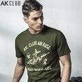 AK Marca CLUB de Camiseta 2017 Base Aérea Serie B-17 Flying fortaleza Bombardero T Impresa Camisa 100% de Algodón de Manga Corta Camiseta 1600032