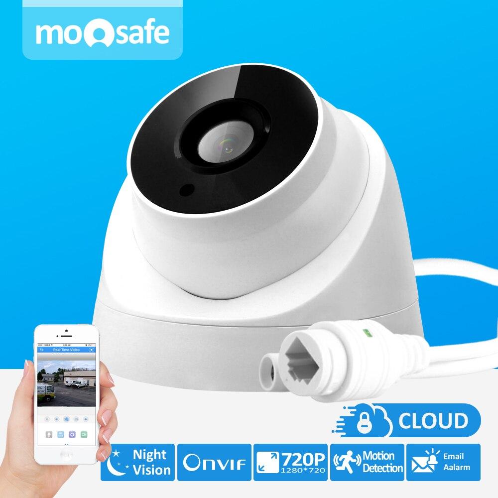 Moosafe 3 6mm Lens ONVIF P2P Security IP font b Camera b font 720P 1280 720