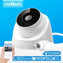 Moosafe 3.6mm Lens ONVIF P2P Security IP Camera 720P 1280*720 CMOS Motion detection Indoor Dome Camera IP 1MP Surveillance CCTV