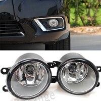 2PCS Fog light Lamp Left + Right Set For Toyota Camry Corolla Yaris RAV4 Lexus GS350 GS450h LX570 HS250h IS F LX570 RX350 RX450h