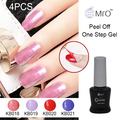 MRO 4 pieces/lot esmalte gel nail polish nails gel professional gel lacquer manicure set gel varnish with lamp vernis permanente