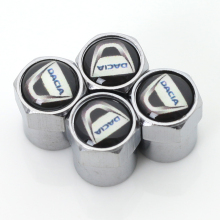 Car tire Valve Caps fit for fiat dacia badge Accessories car-styling