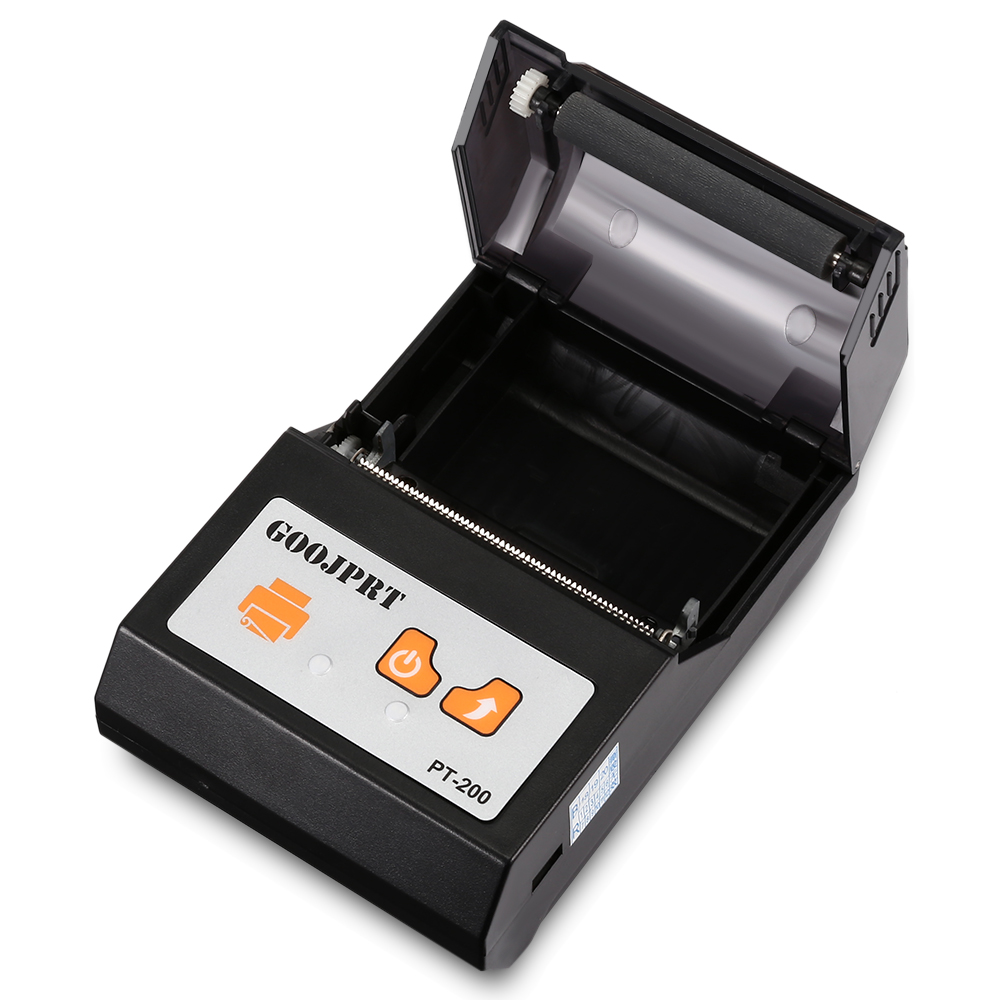 Brazil Shipping 4 PCS PT 200 Bluetooth Thermal Printer 58mm Portable Wireless for Android iOS - 3
