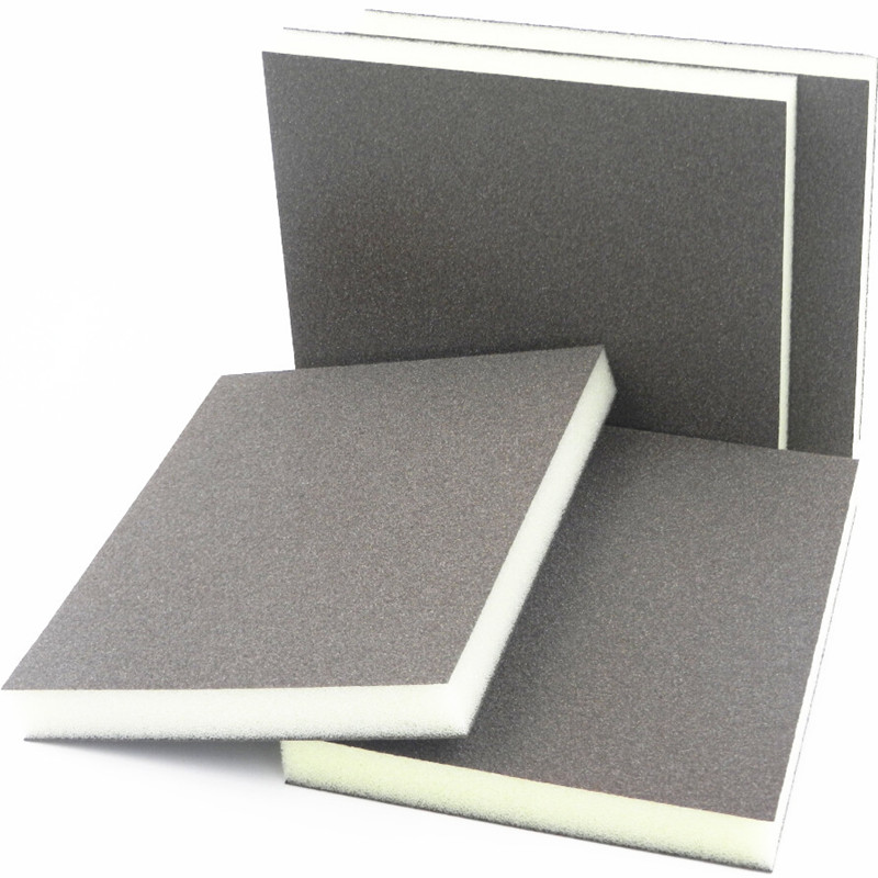 250 pz abrasivo panno abrasivo 120-180 maglia carta vetrata spugna - Abrasivi - Fotografia 2