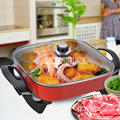 Home Korean electric hot pot multi-functional large-capacity electric hot pot smoke-free non-stick electric cooker dormitory pot