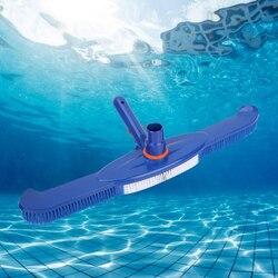 Z tworzywa sztucznego próżniowa do basenu narzędzia do czyszczenia głowicy staw/oczko wodne baseny próżniowe ssania szczotka narzędzie do czyszczenia aspirateur piscine 18 cali|Przybory do czyszczenia|   -