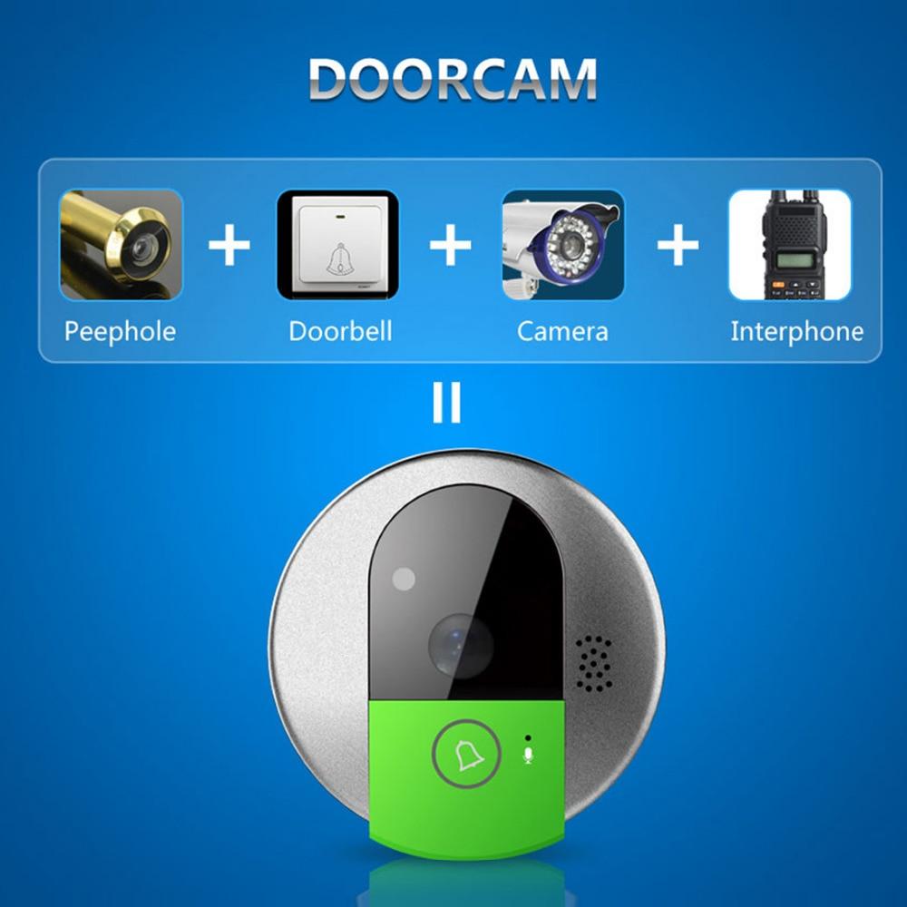 Image 2 - VStarcam C95 HD 720P Wireless WiFi Security IP Door Camera Night Vision Two Way Audio Wide Angle Video Doorcam  Cam-in Doorbell from Security & Protection