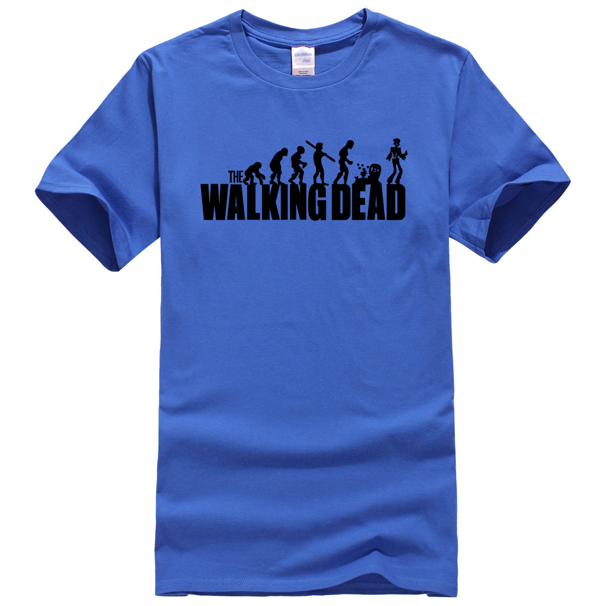 Mens New Shirts Designer | 2017 New The Walking Dead T Shirt Men S New Summer Print Men T