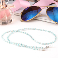 Acrylic Beads Pearl Chain Sunglasses Chains Women Reading Glasses Cord Holder Neck Strap Rope for