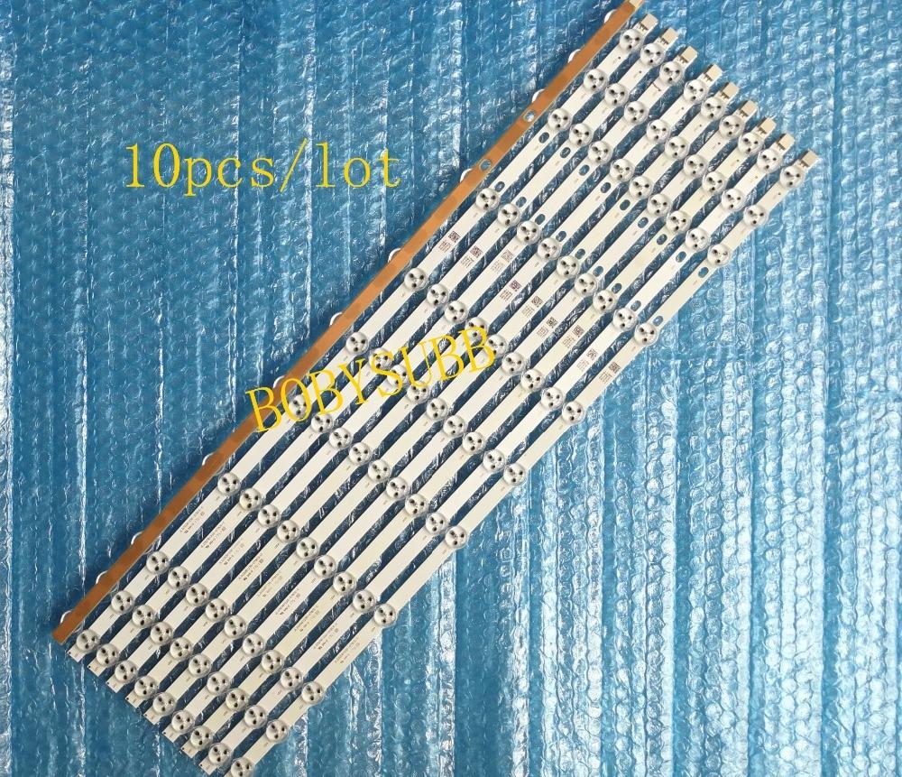 (Nieuwe Originele) 10 50 stks/partij 11LED 575mm LED strip voor 32 inch TX 32C300B VES315WNDS 2D N03 SVV315A38-in AC/DC-adapter van Consumentenelektronica op  Groep 1