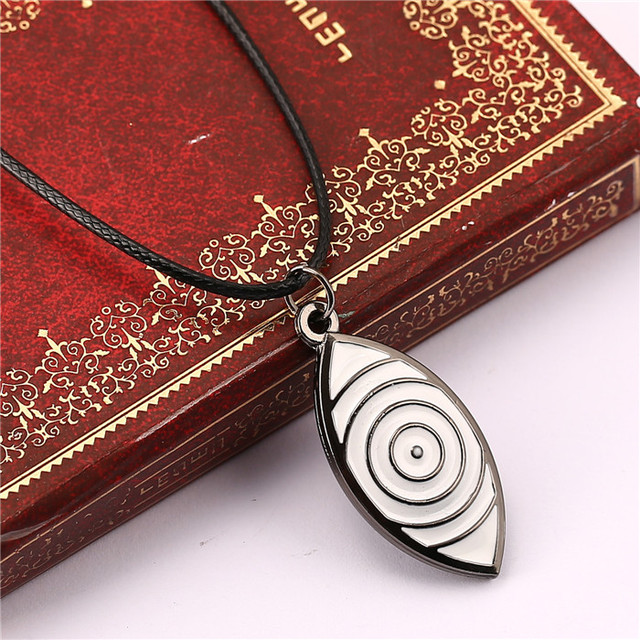 Naruto Rinnegan Rope Choiker Pendant Necklace