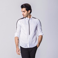 2017 Brand New Men Shirt Male Dress Shirts Men's Fashion Casual Long Sleeve Business Formal Shirt camisa social masculina DCSDS
