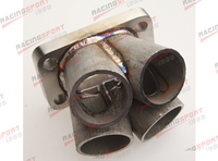 4 1 4 Cylinder Manifold Header Merge Collector Stainless Steel T4 Flange|t4 flange -