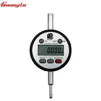 Электронный циферблатный индикатор 0 12.7мм/0.001 мм жк индикатор микрон цифровой индикатор часового типа микрометр стрелочный индикаторные ча