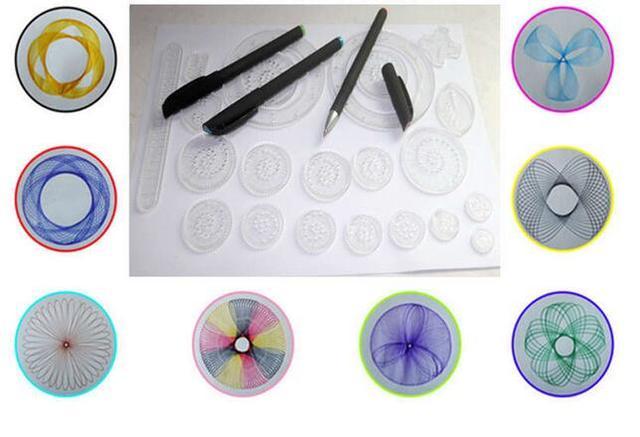 22 teile/satz Zubehör Malen Färbung Spiel Zeichnung Spielzeug mit 3 ...