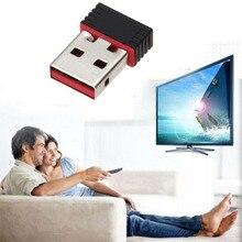 Мини-ПК WiFi адаптер 150 м USB Wi-Fi антенны Беспроводной компьютер сетевой карты 802.11n/g/b LAN + Телевизионные антенны Wi-Fi адаптеры Wi-Fi антенны