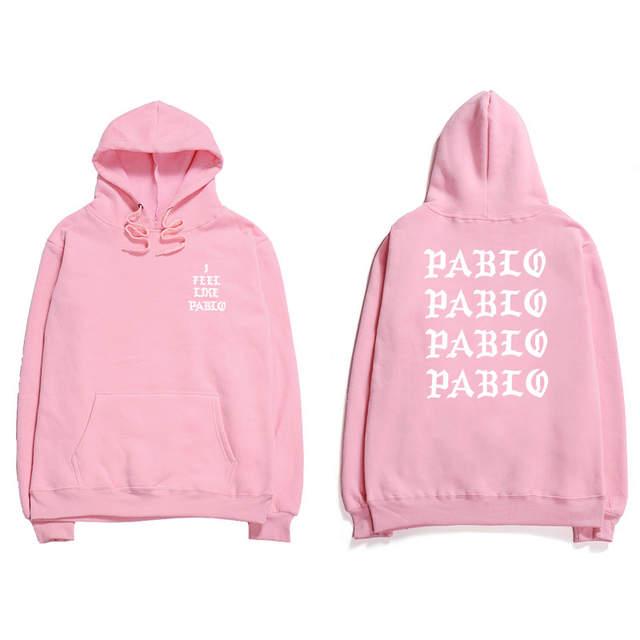 900bcca31 Assc Hip Hop Hoodies Men I Feel Like Pablo Kanye West Streetwear Hoodie  Sweatshirts Anti Social Letter Print Hooded Hoodie Club