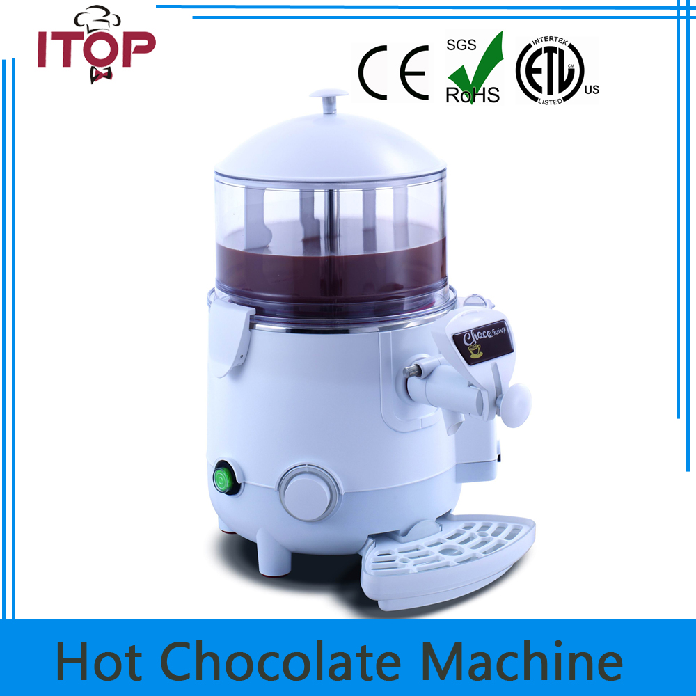 ITOP 5L Commercial hot chocolate machine, coffee hot chocolate dispensing machine chocolate 5
