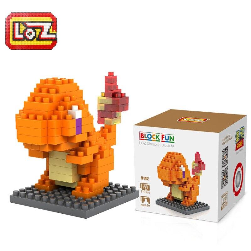 LOZ Diamant Blocs Figure Dragon de Feu Abs En Plastique Granules Constructeur Pour Enfants Bloc De Stress Createur Pixel Jouets