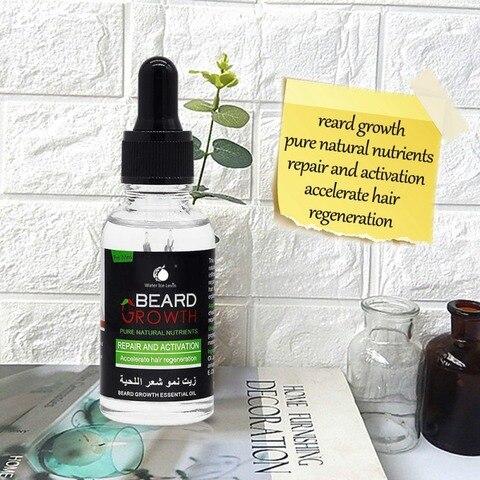 Professional Men Beard Growth Serum Nourishing Beard Anti-Dandruff Anti-Static Plant Nutrients Beard Growth Liquid Wholesale Multan