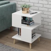 H гостиная современный журнальный столик из массива дерева, стол для хранения ног с плавающим окном, мини-чайный столик для разговора, прикроватная тумбочка для спальни