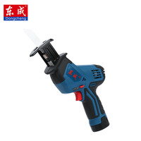 Dongcheng 12V 1.5Ah Portable Charging Reciprocating Serra Saw Testere Electric Saber Saw For Wood Mutifunctional Power Tools