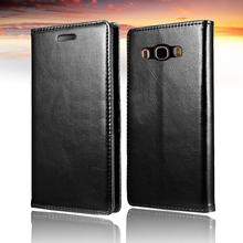 J5 2016 Luxury Style PU Leather Phone Coque Stand Case For Samsung Galaxy J5108 Flip Cover
