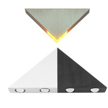 Modern led wall light 3W 5W Triangle aluminum sconces Indoor decorative lamp
