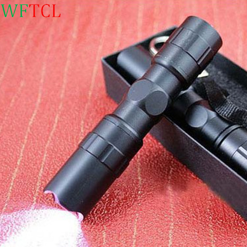 WFTCL Mini LED Linterna LED Water Resistant LED Tactical Flashlight Outdoor Torch battery (not included) powered Mini LED lights