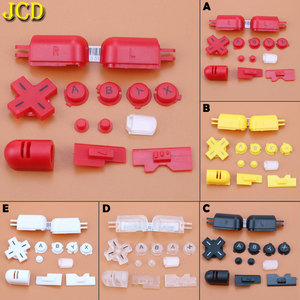 Image 1 - JCD 1Set  Replacement A B X Y abxy L R D Pad Cross Button Full Buttons Set For Nintend DS Lite for NDS Lite for NDSL Buttons Key