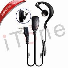 Portable radio headset for weierwei Anytone SFE BFDX etc. two way radio headset 2pin speaker headphone Portable radio headset