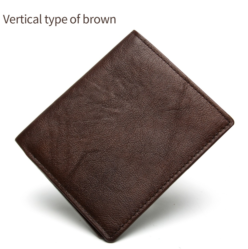 2031-100% top quality cow genuine leather men wallets fashion splice purse dollar price carteira masculina-1_01 (8)