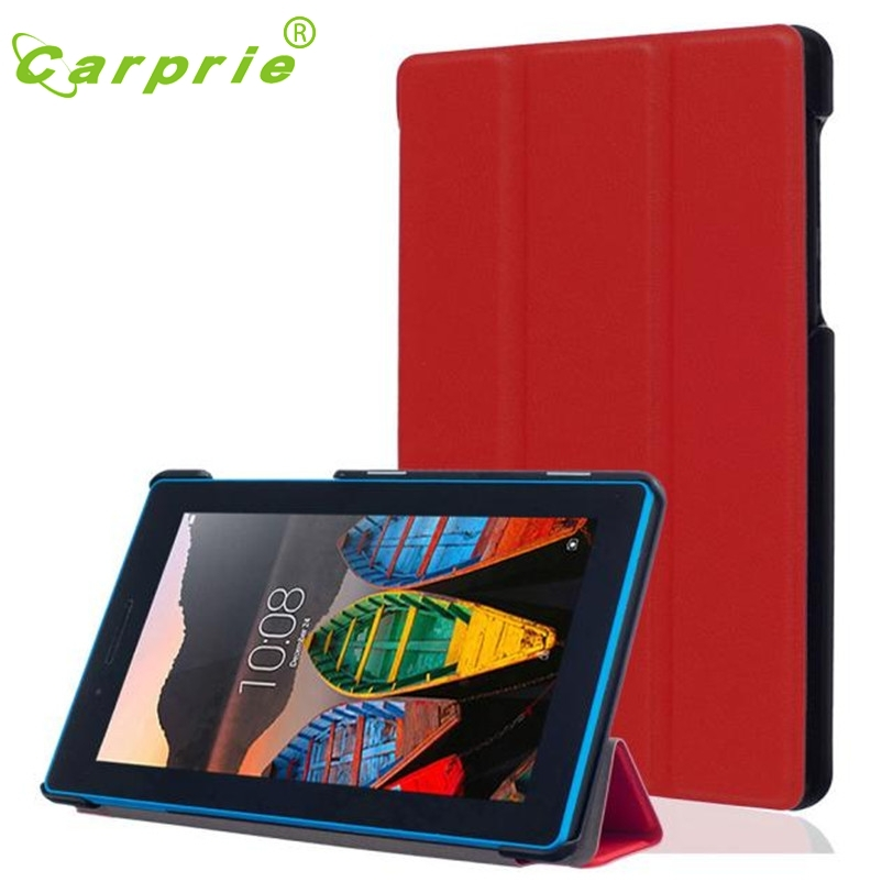 CARPRIE Leather Case Stand Cover For Lenovo Tab3 7 Essential Feb10 MotherLander