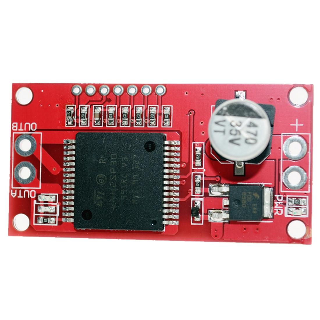 все цены на H Bridge Double Road DC Stepper Motor Drive Controller Board Module VNH2SP30 Motor Driver онлайн